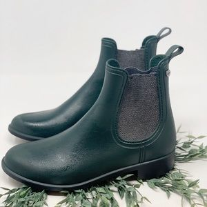 IGOR Hunter Green Ankle Rain Boots Made in Spain